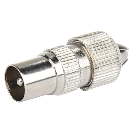 Koaxial-Stecker Metall