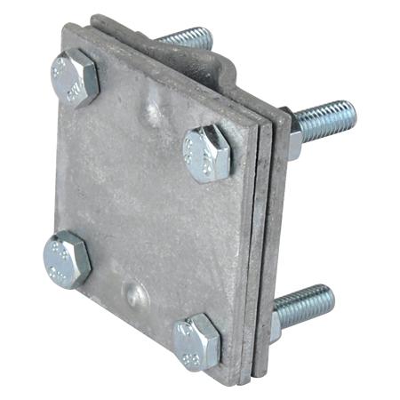 Kreuzverbinder mit Zwischenplatte feuerverzinkt