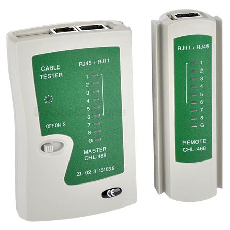 LAN Kabel Netzwerk Tester RJ45, RJ12, RJ11