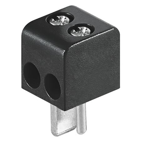 Lautsprecherstecker schwarz