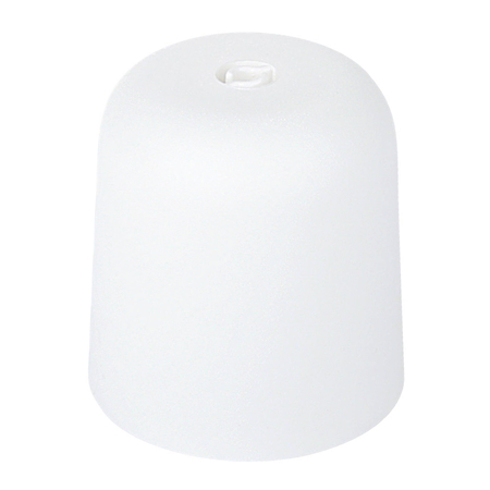 Lampenbaldachin Kunststoff weiß
