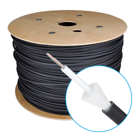 LWL Universalkabel U-DQ(ZN)BH OM3 50/125µ 12 Fasern