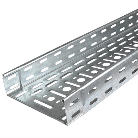 Metall Kabelrinne 60x300 feuerverzinkt 8 m (4 Stangen)