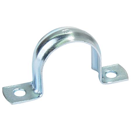 Metallschelle 2-laschig, verzinkt M20, Ø 19-20 mm