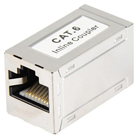 Modularkupplung Cat.6 Patchkabelverbinder RJ45 Metallgehäuse