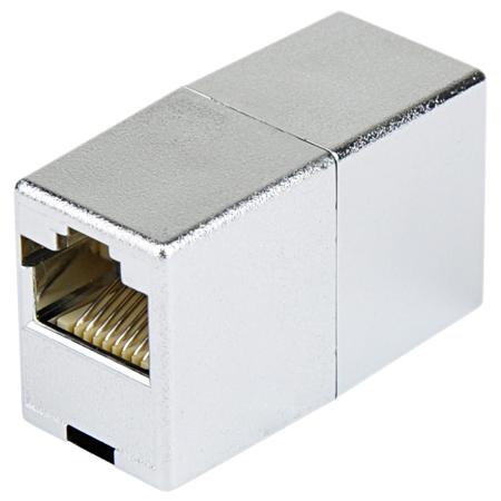 Modularkupplung RJ45 Metallisiert