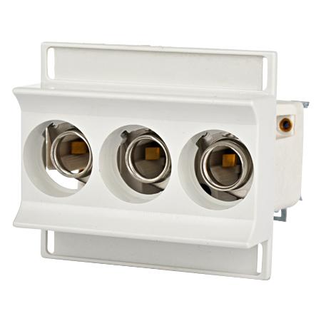 NEOZED Sicherungssockel D01 2-16A E14 3-polig