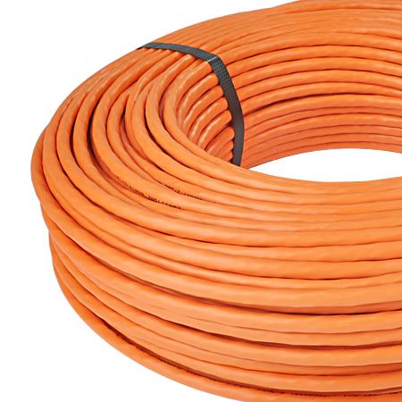 Netzwerkleitung Datenleitung Cat.7 Simplex orange 100 m