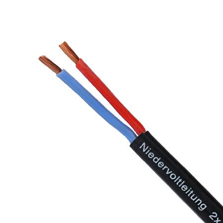 Niedervoltleitung Li2GYw 2x4 mm²