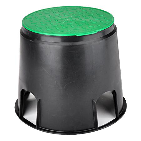 Outdoor Bodentank mit grünem Deckel Ø 25 cm