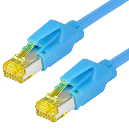 Patchkabel Hirose TM31 Draka UC900 LAN Kabel blau