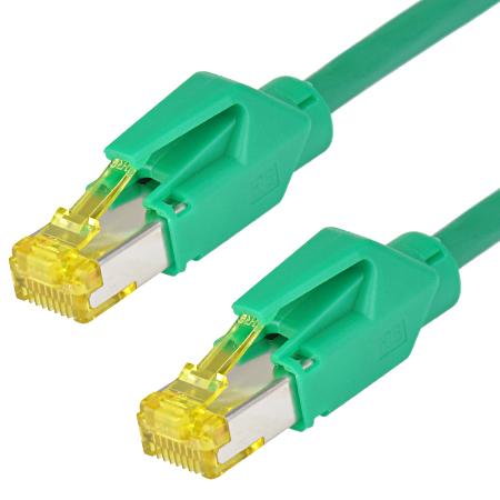 Patchkabel Hirose TM31 Draka UC900 LAN Kabel grün 1 m