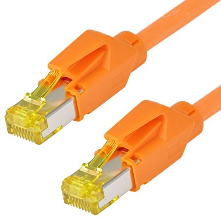 Patchkabel Hirose TM31 Draka UC900 LAN Kabel orange 40 m