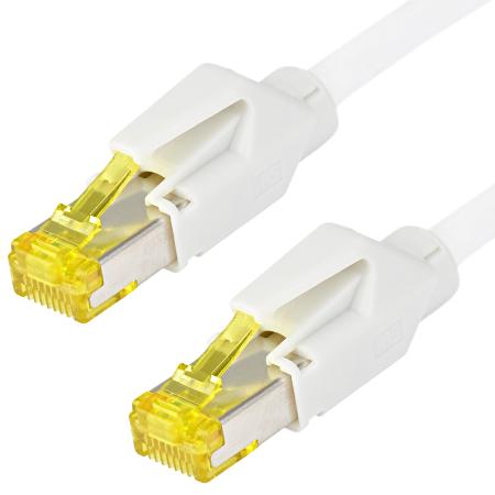 Patchkabel Hirose TM31 Draka UC900 LAN Kabel weiß