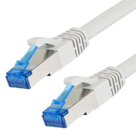 Patchkabel Superflex RJ45 LAN Kabel sehr flexibel grau 3 m