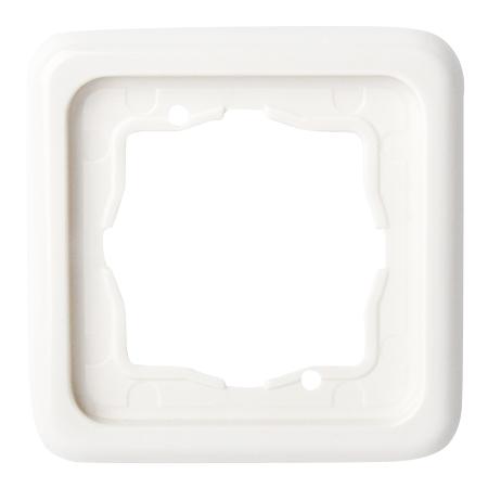 Presto-Vedder Abdeckrahmen 1-fach ultraweiß