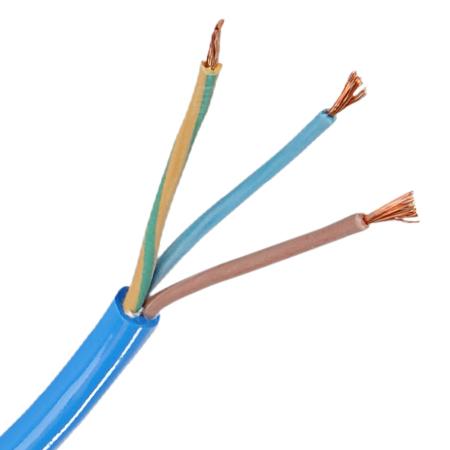PUR Schlauchleitung H07BQ-F 3x1,5 mm² blau