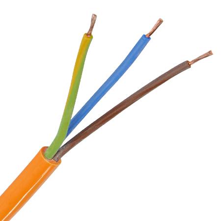 PUR Schlauchleitung H07BQ-F 3x1,5 mm² orange 100 m