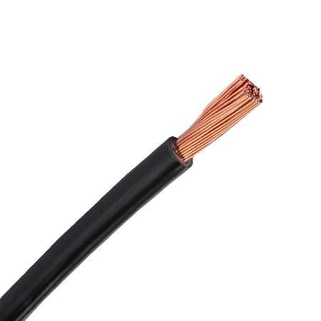 PVC Aderleitung flexibel H07V-K 1x6 mm² schwarz