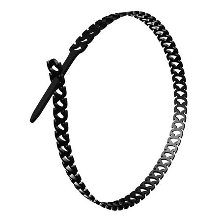 Kabelbinder halbelastisch 10x300 mm schwarz 48 Stück