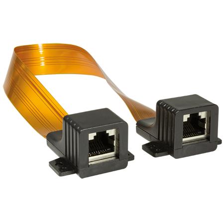 RJ45 Fensterdurchführung für LAN Kabel