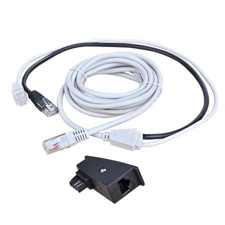 RJ45 Y-Kabel 3 m und TAE-Adapter