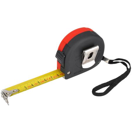 Rollbandmaß / Rollmeter mit Stahlband 5 m