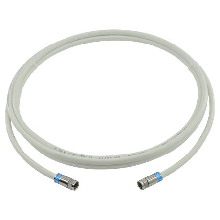 SAT-Kabel 120 dB mit F-Kompressionsstecker