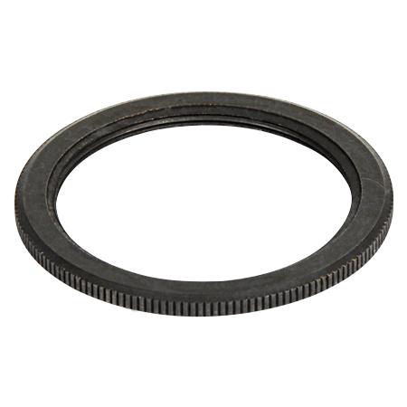 Schraubring Metall Schwarz für Retro Lampenfassung E27