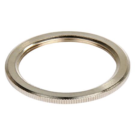 Schraubring Metall Silber für Retro Lampenfassung E27