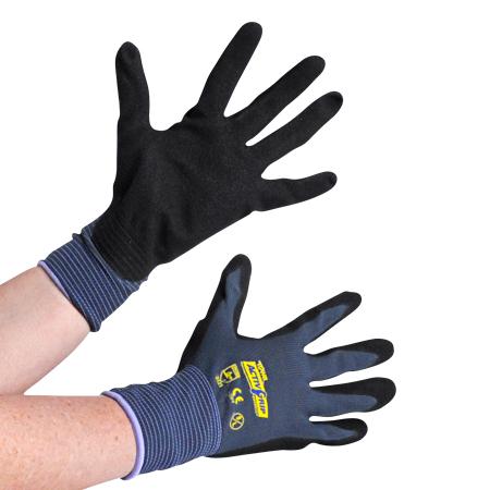 Schutzhandschuhe mit Microfinish (Activ-Grip) 9 (L)