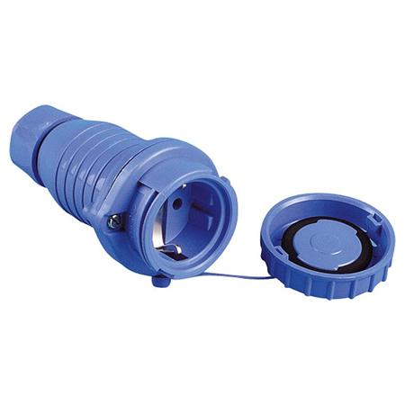 Schutzkontakt Kupplung druckwasserdicht IP68