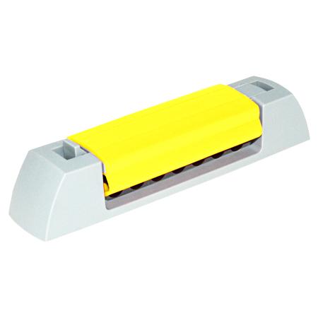 Serpa KabelClip gelb mit Klebestreifen