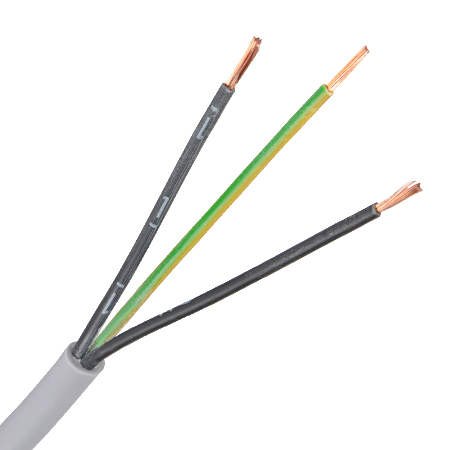 Steuerleitung Flex-JZ 3x1 mm² grau Meterware