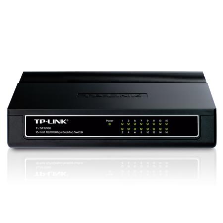 TP-Link 16-Port Fast Ethernet Desktop Switch
