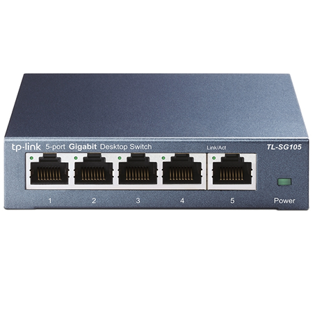 TP-Link 5-Port Gigabit Switch Metallgehäuse