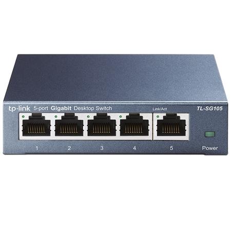 TP-Link 5-Port Gigabit Switch Metallgehäuse