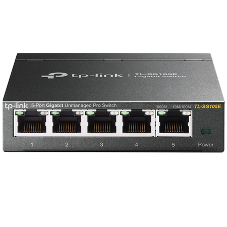TP-Link 5-Port Gigabit Easy Smart Switch