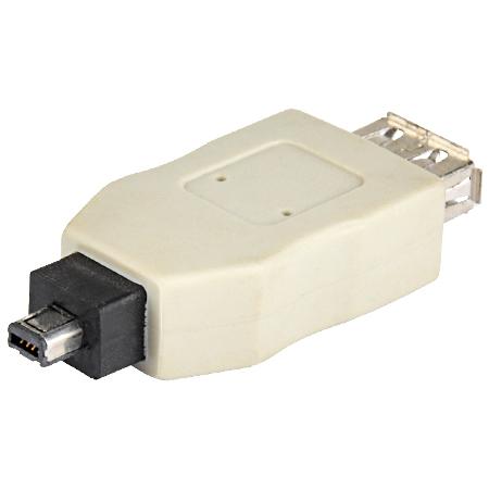 USB 2.0 Adapter A-Kupplung - A-Mini 4pin Stecker