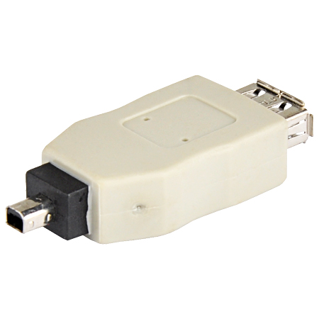 USB 2.0 Adapter A-Kupplung - B-Mini 4pin Stecker