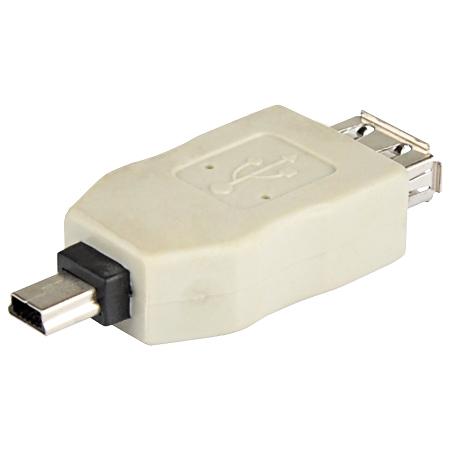 USB 2.0 Adapter A-Kupplung - B-Mini 5pin Stecker