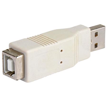 USB 2.0 Adapter A-Stecker - B-Kupplung
