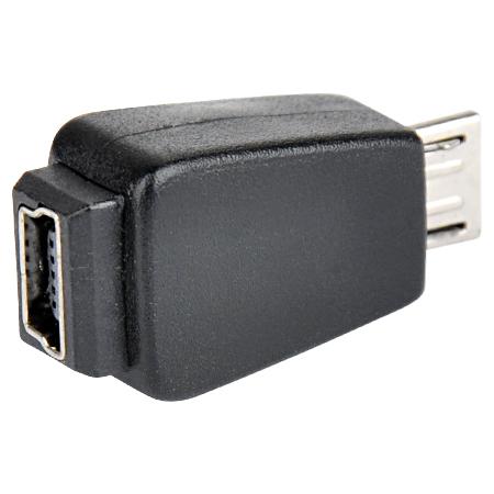 USB 2.0 Adapter Micro-B-Stecker Mini-B-Buchse