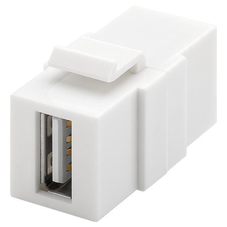 USB 2.0 Keystone Modul A-Buchse A-Buchse