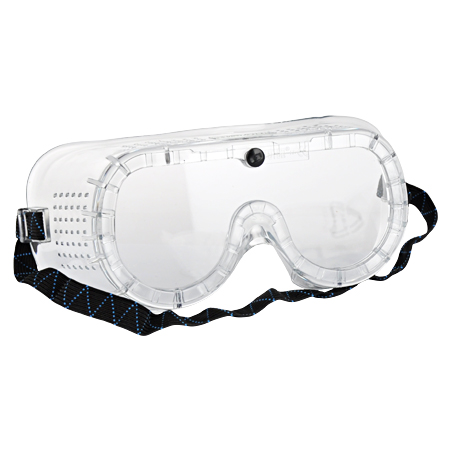 Vollsicht Schutzbrille mit Gummiband