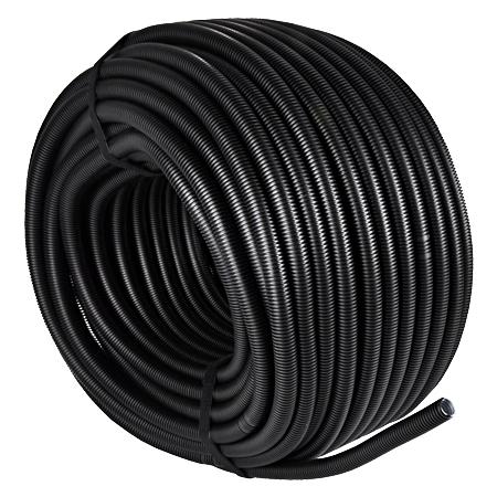 Wellrohr / Leerrohr flexibel 320 N schwarz M20, 100 m