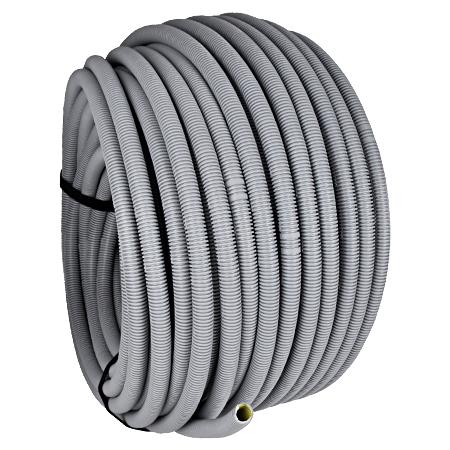 Wellrohr / Leerrohr flexibel 750 N grau