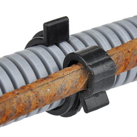 Wellrohrhalter 20-25 mm Klemme für Bewehrung