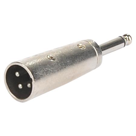 XLR-Stecker - mono Klinkenstecker