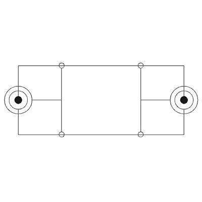 Audiokabel 3,5 mm Stereo geschirmt